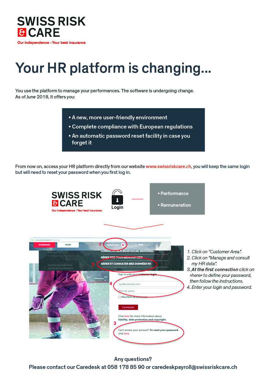 UBP : your HR platform is changing