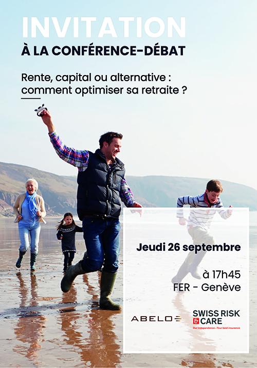 Swiss Risk & Care - Invitation conférence du 26.09.19